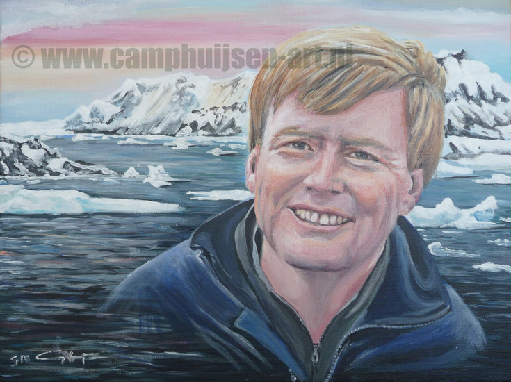 Willem Alexander in Antarctica