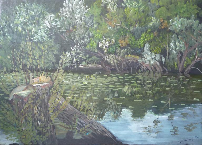 Impressies bij de Seine
