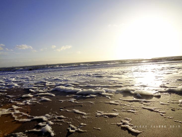 Zand en zee bij Vlissingen