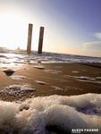Foto's gemaakt tijdens mijn bezoekjes aan verschillende stranden in 2014.