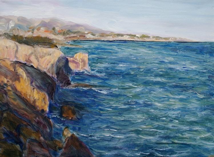 Ionic zee bij Sicilia