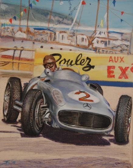Fangio Monaco '55