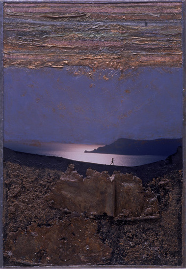 Kraterwand Santorini