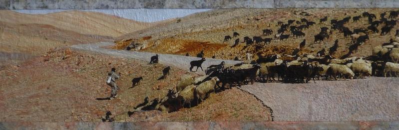 Herder onderweg