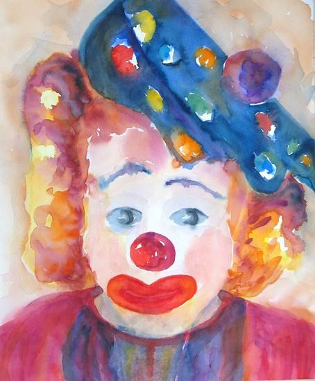 Clown met pet