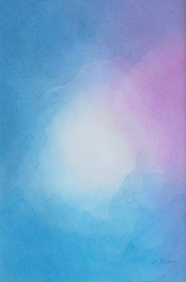 Blauwe sluier 1