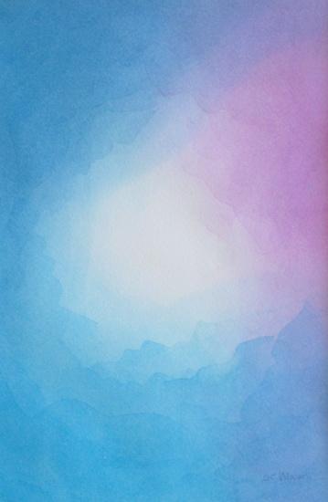 Blauwe sluier 2