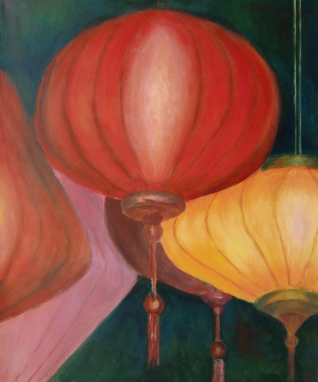 Lampionnen in Hoi An Vietnam