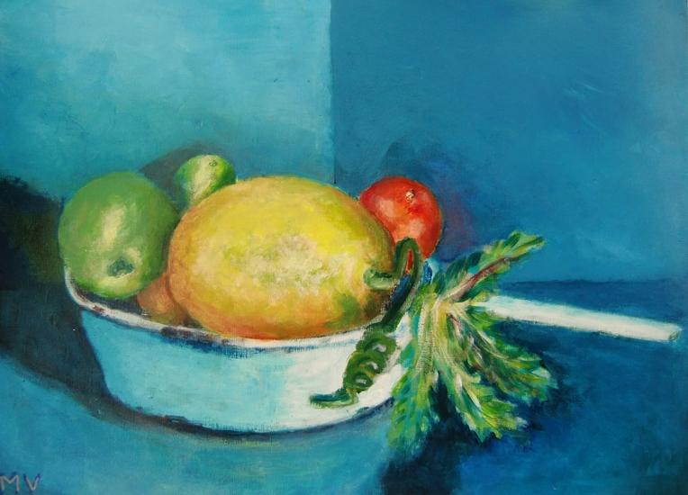 fruit op steelpan