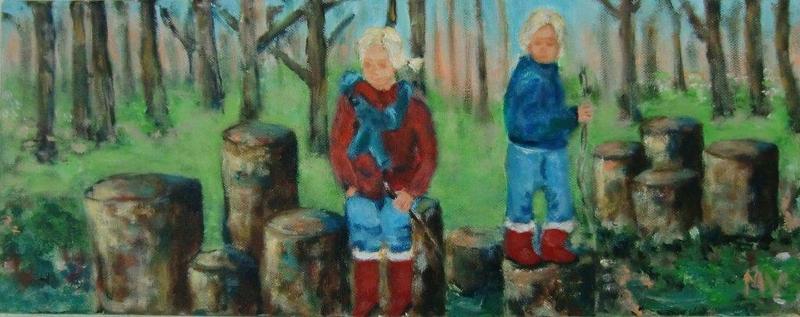 het bos van Hans en Grietje