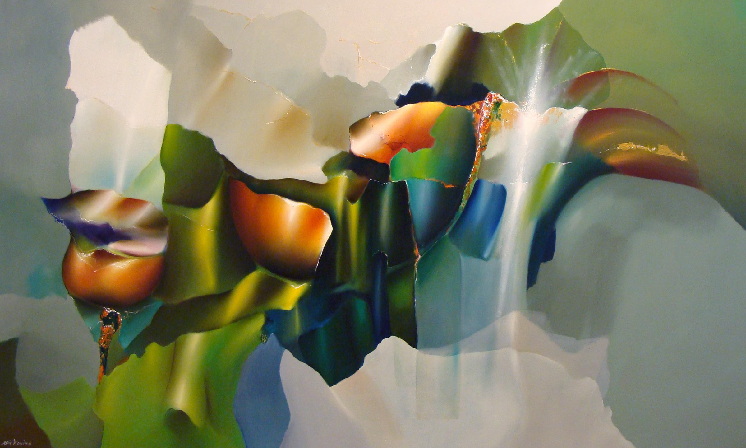 Arie koning structure of nature moderne schilderkunst for Moderne schilderkunst