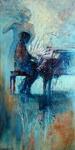 Werken geinspireerd op muziek, zowel realistisch als gebaseerd op fantasie.