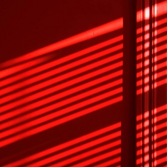 Red Wall and Sunlight