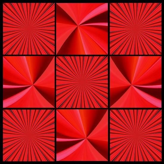 ARK (Abstract Red Kaleidoscope)