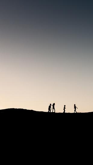 Zonsondergang 2 (woestijn)