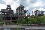 Beelden gemaakt in het Landschaftsparkt Duisburg, een oud Hoogoven-fabriek