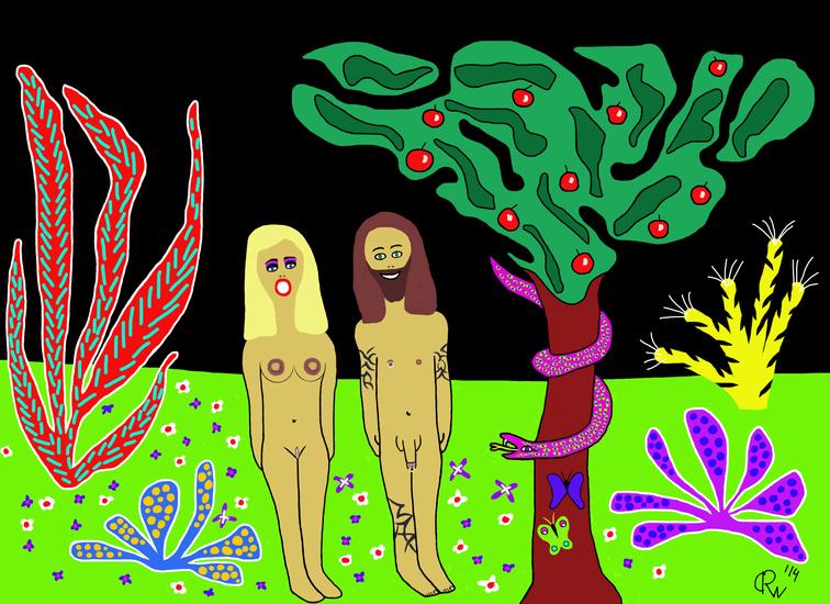 Adam en Eva