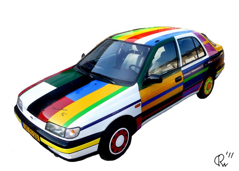 Kunst auto