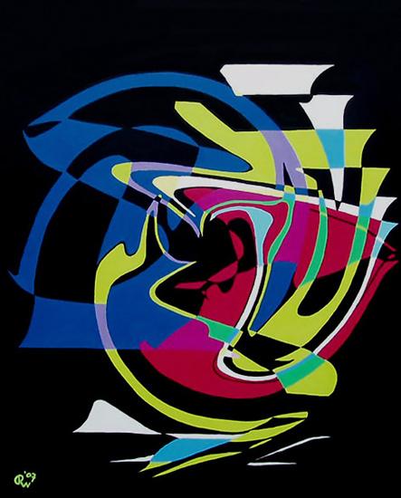 Abstracte compositie nr.47