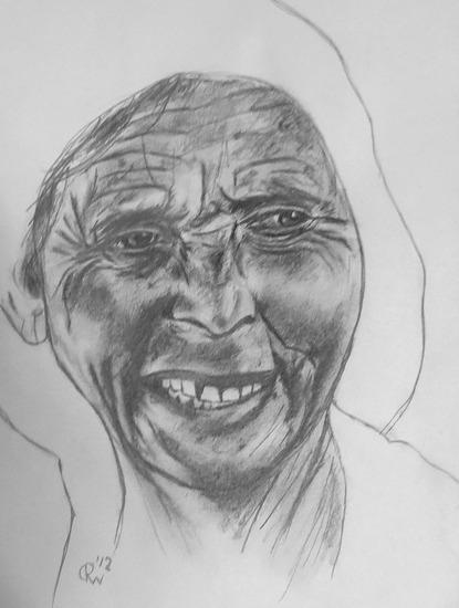 Oude vrouw # 2