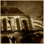 Bewerkte sfeerfoto's van Saint Germain des Prés